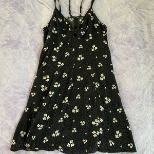 American eagle strappy floral dress